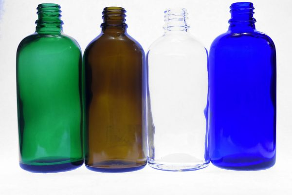100ml green amber clear blue botles