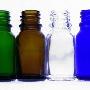 10ml green amber clear blue bottles