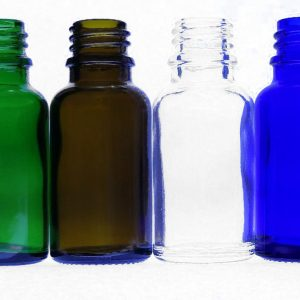 15ml green amber clear blue bottles