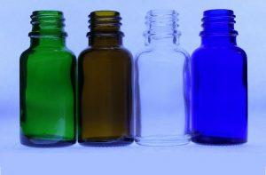 15ml green amber clear blue bottles