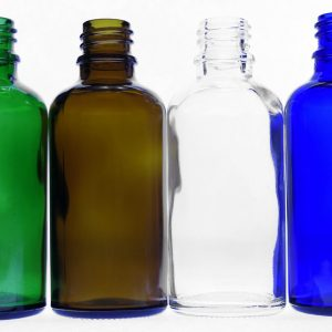 50ml green amber clear blue bottles