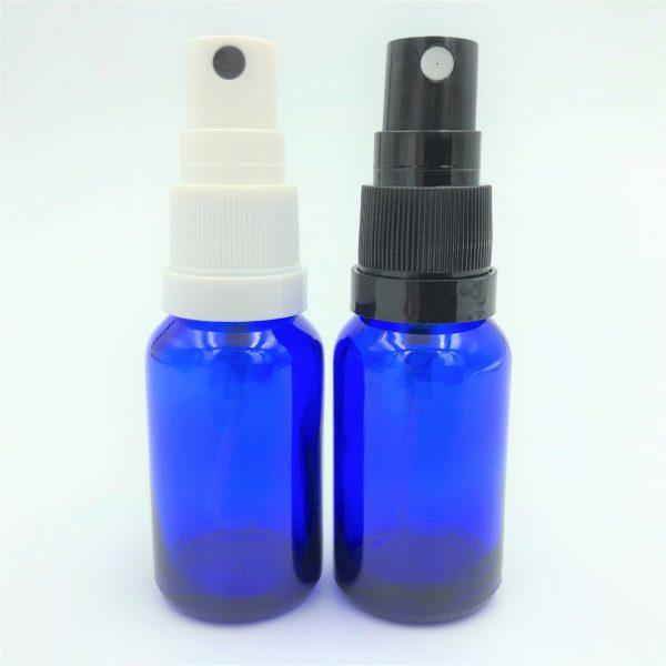 Atomiser caps for DIN18 bottles