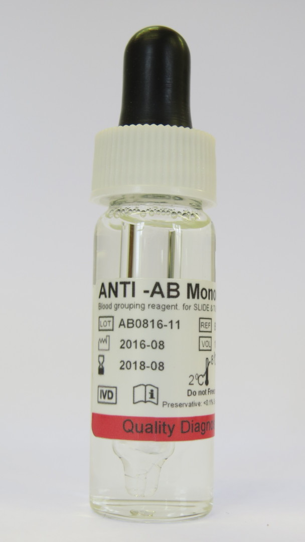 Anti A B Monoclonal Blood Grouping Reagent Rapid Labs
