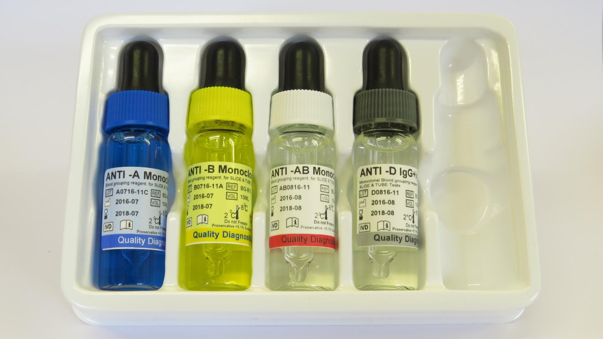 Anti A B Ab D Igg Amp Igm Monoclonal Blood Grouping