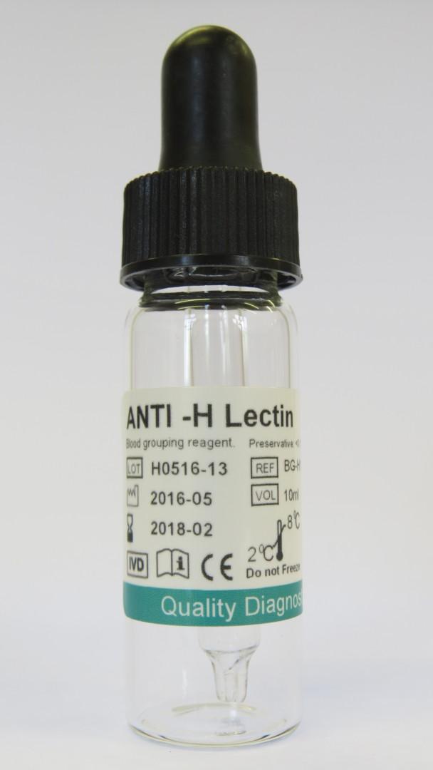 Anti H Lectin Rapid Labs