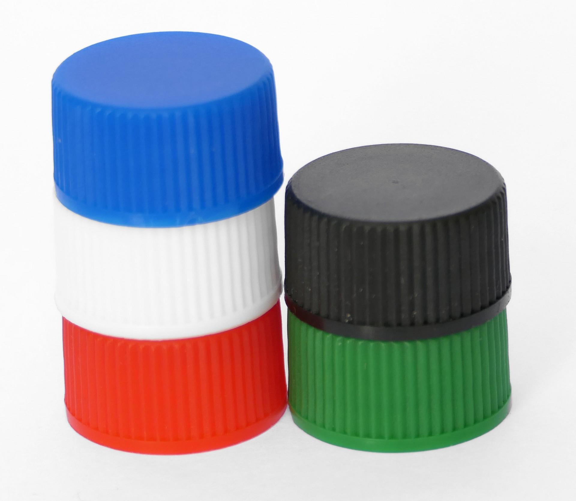 Caps for Glass Vials - Polypropylene (PP) & UREA