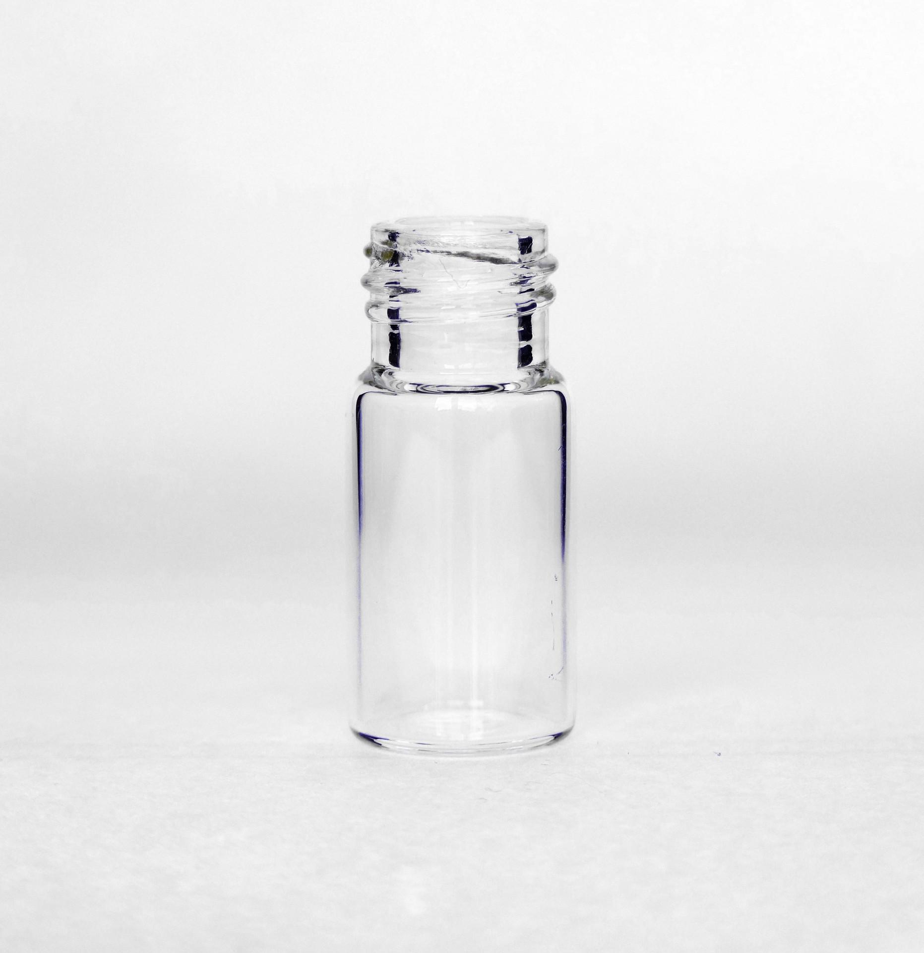 3ml Dropper Vial Clear 3ml VI-0301-C4