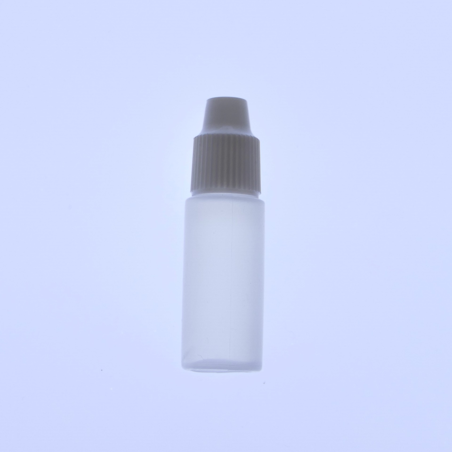 3ml Hdpe Bottle And Cap Natural Rapid Labs