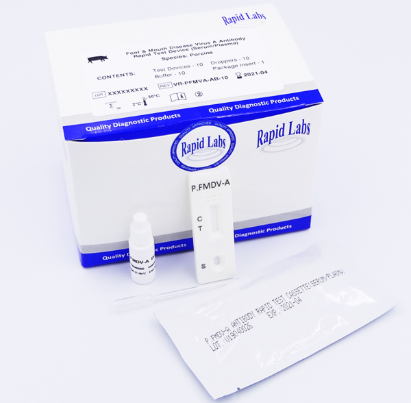 Porcine Foot and Mouth Disease Rapid Test