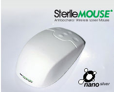 Antimicrobial mouse wireless