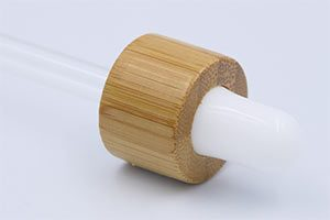 Bamboo Wood Dropper Pipette Assemblies
