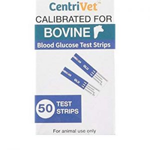 blood glucose test for cows
